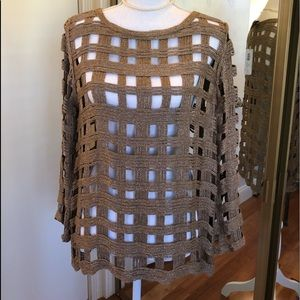 Chico's basketweave sweater